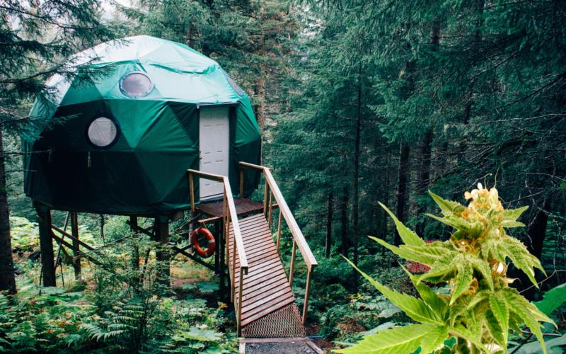 Airbnb fast med en ny twist